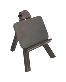 piccolo cavalleto + lavagna 11x15,5 cm legno (1 unitÀ)