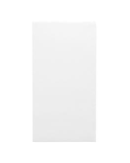servilletas ecolabel p. 1/6 'double point' 18 g/m2 30x40 cm blanco tissue (1800 unid.)