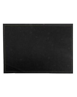 mantelines 'cool-cotton' 140 g/m2 45x32 cm negro algodÓn (100 unid.)