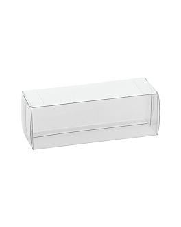 pastry cases 16x5x5 cm clear pvc (200 unit)
