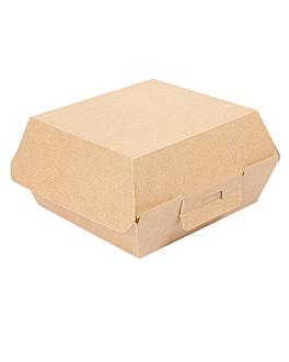 boÎtes hamburger 'thepack' 220 g/m2 13x12,5x6,2 cm naturel carton ondulÉ nano-micro (450 unitÉ)