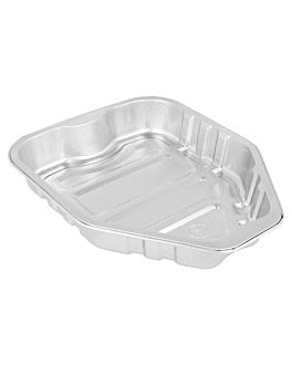 recipientes pollos 23x18x3,5 cm aluminio (210 unid.)