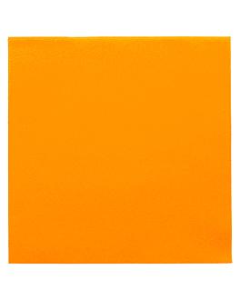 serviettes 55 g/m2 40x40 cm mandarine dry tissue (700 unitÉ)