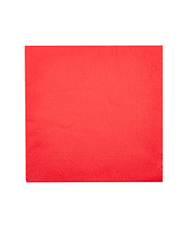 napkins ecolabel 2 ply 18 gsm 39x39 cm red tissue (1600 unit)