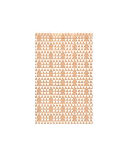 bolsas planas abetos 60 g/m2 12+5x18 cm kraft verjurado (250 unid.)