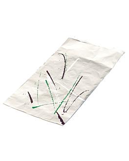 paper + aluminium bags for sandwiches 'volare' 52 gsm 9+4x22 cm silver parchment+aluminium (500 unit)
