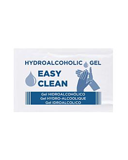 gel hidroalcohÓlico 'easy clean' 2,5 ml 4,5x7 cm (250 unid.)