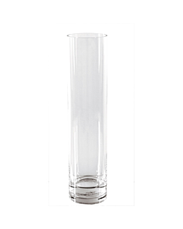 giant decoration - cylinder Ø 10x40 cm clear glass (1 unit)