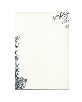 """hojas din a-4 """"mediterranea"""" 21x29,7 cm blanco papel (100 unid.)"""