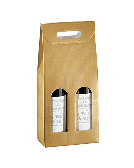 30 u. boÎtes 2 bouteilles 'el dorado' 18x9x34 cm or carton (1 unitÉ)