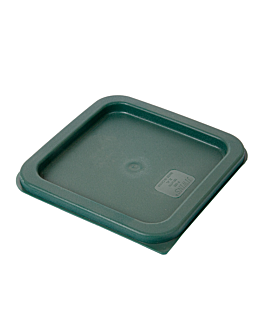 lid for items 145.56/164.50 18,8x18,8x1 cm green pe (1 unit)