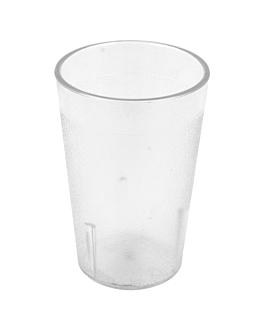 stackable cups 230 ml Ø 6,7x10,2 cm clear polycarbonate (72 unit)