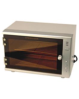 armoire stÉrilisateur pour 10 couteaux 35,5x20,5x22 cm blanc metal (1 unitÉ)
