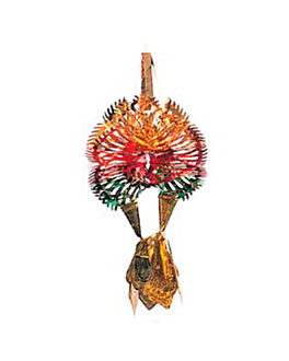 decorazione da appendere 52 cm colori varie (1 unitÀ)
