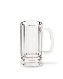 pinte da birra 365 ml Ø 7,3x13 cm trasparente policarbonato (72 unitÀ)