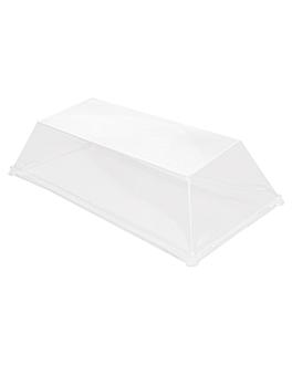 lids for item 215.82 'bionic' 18x9x2,5 cm clear pet (400 unit)