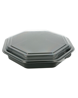 cassa 1064 ml 23x23x5 cm nero ps (200 unitÀ)