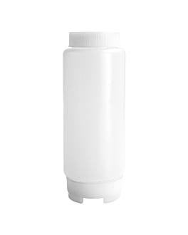 dosatore per salse 720 ml Ø 7,5x20,8 cm traslucido pehd (24 unitÀ)