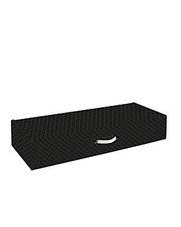 10 u. cartons jambon 576 g/m2 64,5x39,5x11 cm noir carton (1 unitÉ)