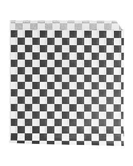 tÜten 2-seitig offen 'fitipaldi' 34 g/m2 13x14 cm schwarz pergament fettabweisend (1000 einheit)