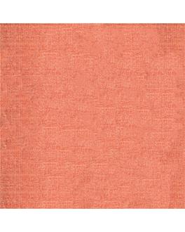 toalhas de mesa dobradas m 'like linen - aurora' 70 g/m2 120x120 cm toranja spunlace (200 unidade)