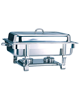 chafing dish gastronorm 1/1 9 l 63x35,5x27,3 cm silver stainless steel (1 unit)