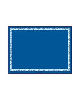 sets de table blue intense 55 g/m2 30x40 cm dry tissue (800 unitÉ)