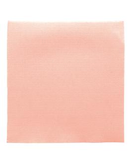tovaglioli ecolabel 'double point' 18 g/m2 39x39 cm rosa tissue (1200 unitÀ)