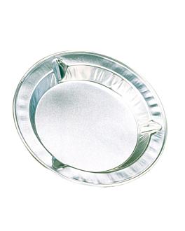 ashtray Ø 8,8x0,9 cm aluminium (100 unit)