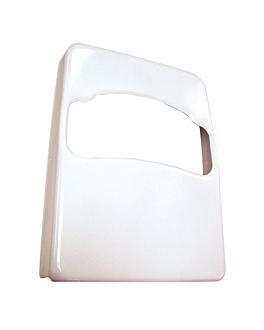 dispensador de lujo 22x4,7x30,7 cm blanco abs (1 unid.)