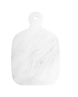 cutting board 40,6x26,6x1,5 cm white marble (2 unit)