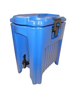 distributeur boissons isothermique 20 l 46x30x51,3 cm bleu plastique (1 unitÉ)