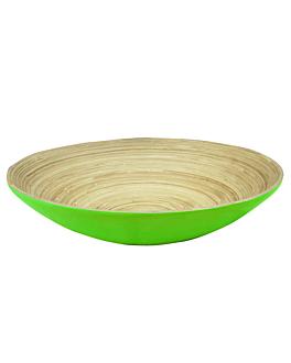ciotole Ø 30x9 cm verde anice bambÙ (30 unitÀ)