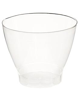 verres martini injectÉs 250 ml Ø 9,2x7,2 cm transparent cristal ps (750 unitÉ)