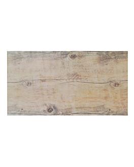 tablas gn 1/3 imitaciÓn madera 32x17 cm melamina (6 unid.)