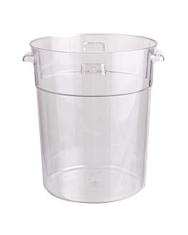 contenitore 18 l Ø 31,4x37,8 cm trasparente policarbonato (1 unitÀ)