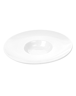 "plates ""gran ala"" Ø 28,5 cm white porcelain (12 unit)"