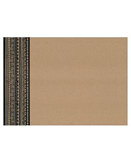 tovagliette offset 'nairobi' 70 g/m2 31x43 cm quatricomia kraft (2000 unitÀ)
