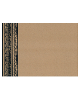 table mats offset 'nairobi' 70 gsm 31x43 cm four coloured kraft (2000 unit)
