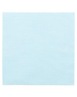 servilletas 'like linen' 70 g/m2 40x40 cm turquesa spunlace (600 unid.)