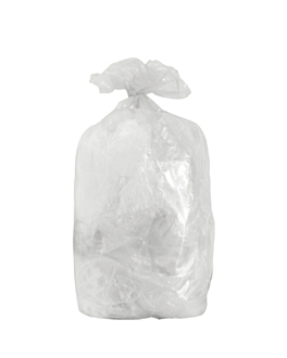 10 u. garbage bags 130 l 70µ 88x115 cm clear peld (10 unit)