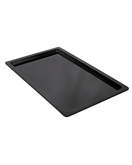 gn pans 1/1 2 (h) cm black melamine (6 unit)