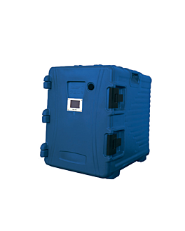 isothermal case 90 l 62x43x64 cm blue plastic (1 unit)