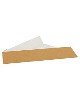 palas triang. pizzas 300 g/m2 21x16,5x3,5 cm marrÓn cartÓn (1200 unid.)