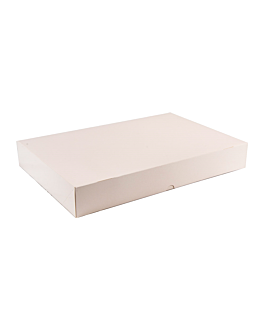 self assembling catering boxes 325 gsm 28x42 cm white cardboard (100 unit)