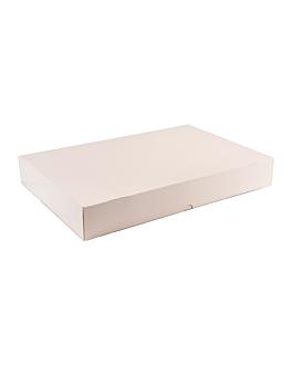 scatole catering auto montaggio 325 g/m2 28x42 cm bianco cartone (100 unitÀ)