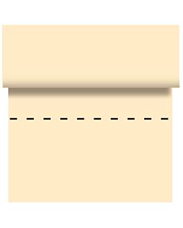 mantel - 125 segmentos 48 g/m2 80x80 cm marfil celulosa (4 unid.)