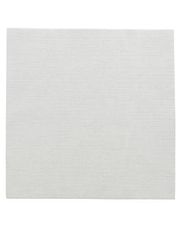 servilletas 'like linen' 70 g/m2 40x40 cm gris spunlace (600 unid.)