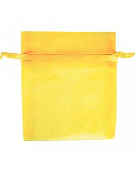 bolsas grandes organdÍ con cierre 35x40 cm champÁn microfibra (48 unid.)