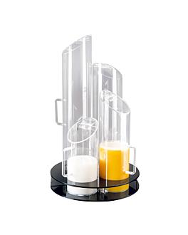distributeur pour dÉjeuner Ø 31x51 cm transparent acrylique (1 unitÉ)